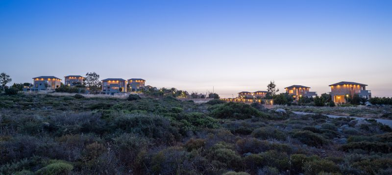 Panoramic photo of the Divine villas