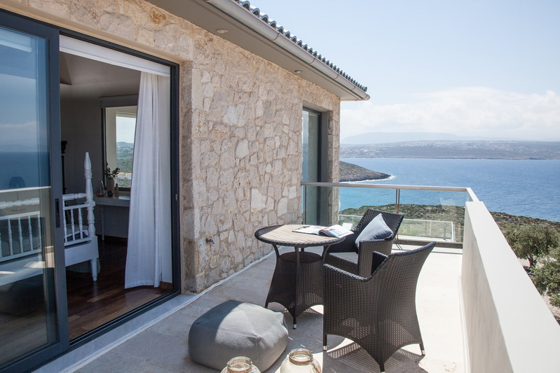 Divine villas sea view   Tersanas Chania
