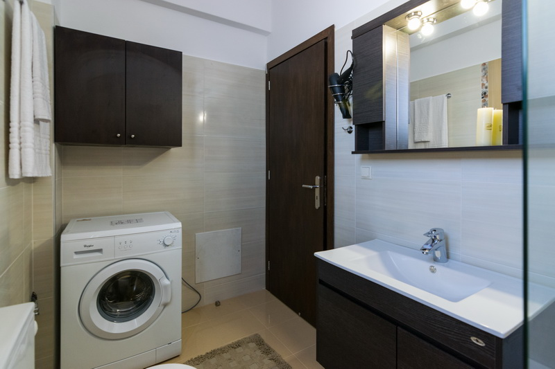 Bathroom and washing machine